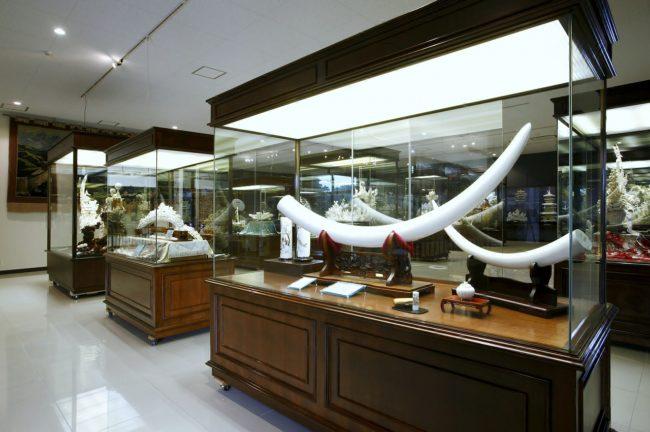 象牙と石の彫刻美術館~ジュエルピア~