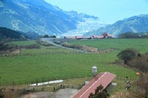 西天城高原 牧場の家